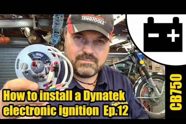 Dyna electronic ignition & coils - full install